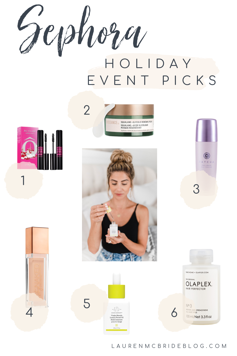 Connecticut life and style blogger Lauren McBride shares her Sephora Holiday Savings Event picks for Beauty Insiders.