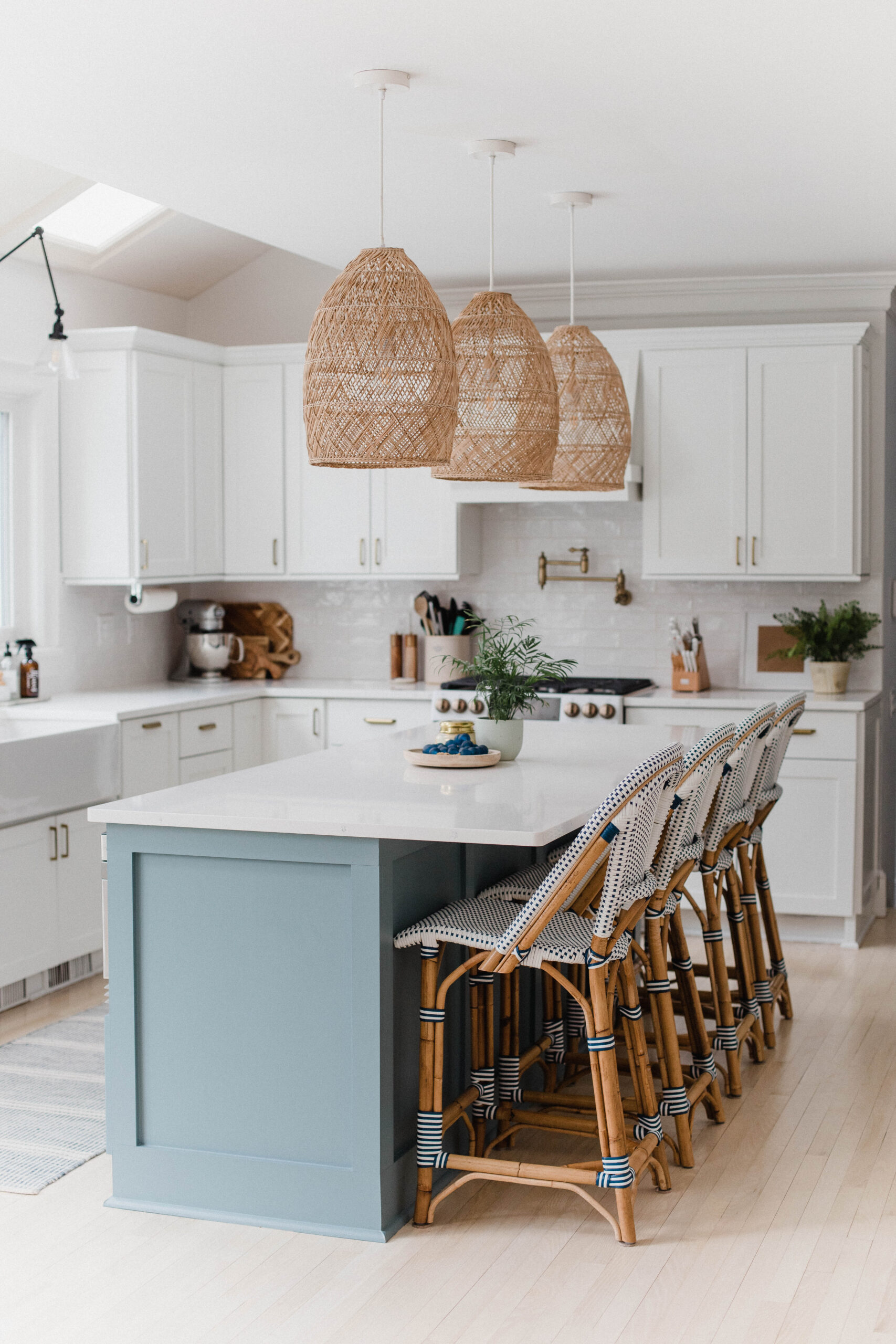 Connecticut life and style blogger Lauren McBride shares the paint colors in her home and one tip on selecting paint colors.