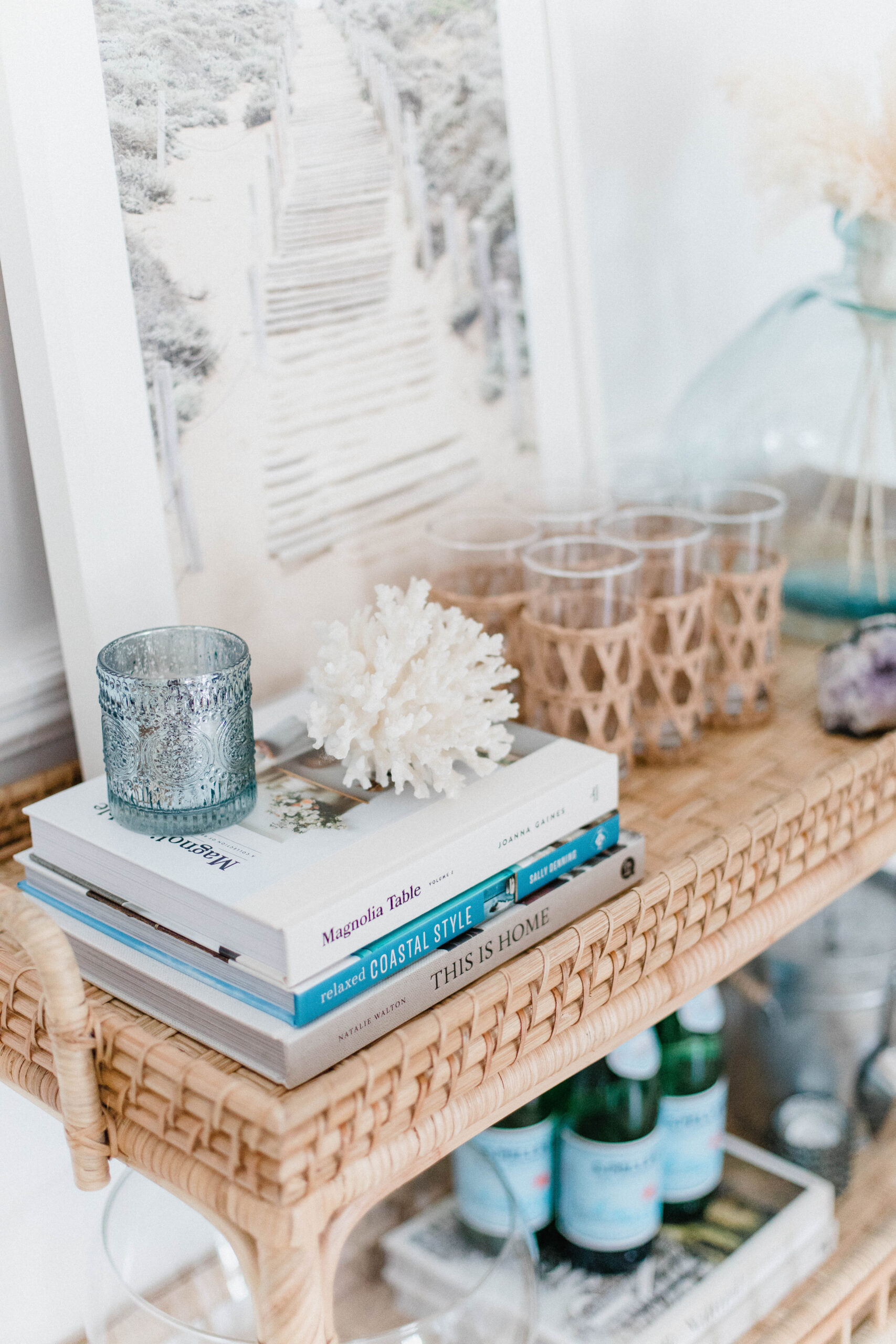 Connecticut life and style blogger Lauren McBride shares her favorite coffee table books that are home and coastal inspired.
