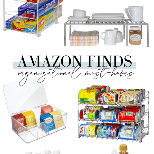 Looking to get organized this year? Connecticut Blogger Lauren McBride rounded up her top Amazon Organizational Finds under $50. See them HERE!